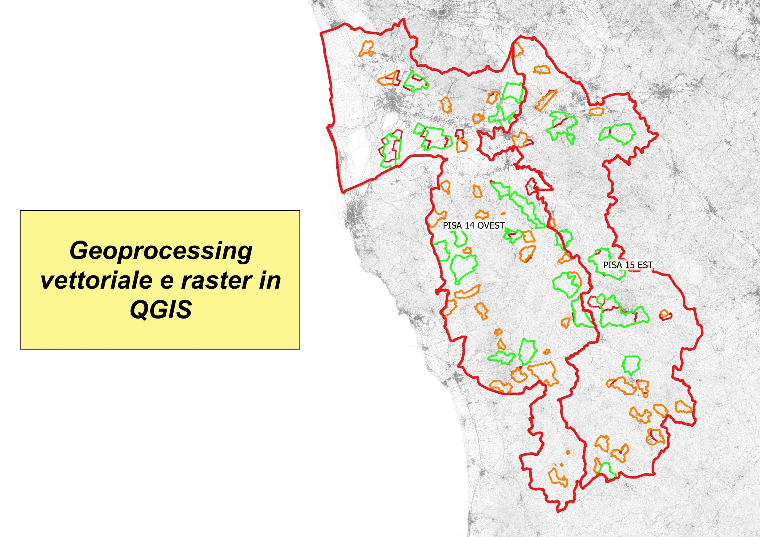 Modulo IV: Il geoprocessing vettoriale e raster in QGIS