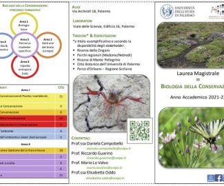 BIOLOGIA DELLA CONSERVAZIONE all'Università degli Studi di Palermo